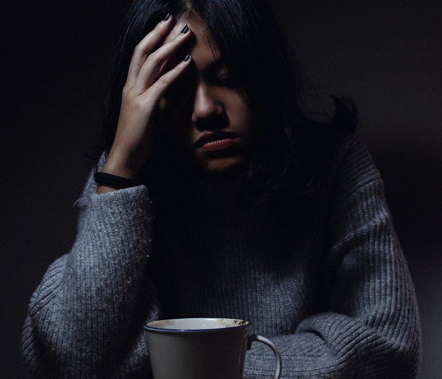 Woman Experiencing Grief