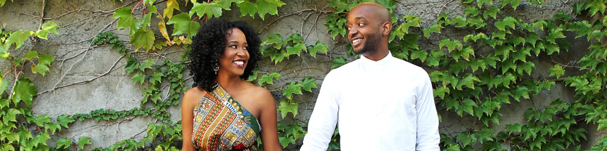 Couple who set healthy boundaries in their relationship